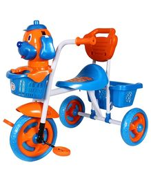 HLX NMC Puppy Design Tricycle - Blue And Orange