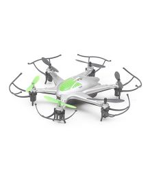 Flyers Bay RC Hexacopter Drone With LED Light & Headless Mode - Multicolor