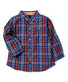 Kidsplanet Checkered Shirt - Multicolour