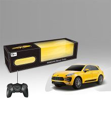 Toyhouse Porsche Macan RC Model Car - Yellow