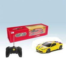Toyhouse Ferrari 458 Special RC Model Car - Yellow