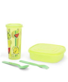 Pratap Hungry Kya Easy Container Set - Green