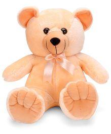IR Chubby Teddy Soft Toy Peach - 28 cm