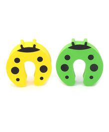 Cutez Door Guards Medium Yellow and Green - Pack Of Two