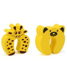 Cutez Door Guards Medium Yellow - Pack of 2