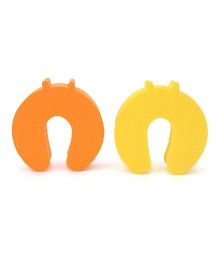 Cutez Door Guards Small Yellow and Orange - Pack of 2
