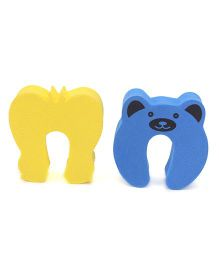 Cutez Door Guards Small Yellow and Blue - Pack Of 2