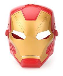 Marvel Captain America Iron Man Hero Mask - Red Golden