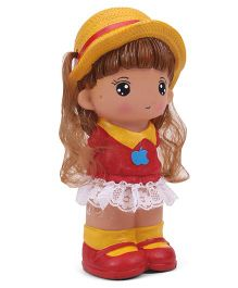 Speedage Jessica Money Bank Toy Red Yellow - 10 Inches