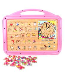 Funworld 2 In 1 ABC Puzzle Slate Senior - Pink