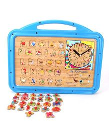 Funworld 2 In 1 ABC Puzzle Slate Senior - Blue
