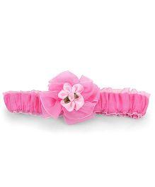 Nena Flower Headband - Pink