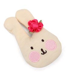 Nena Rabbit Face Hair Clip - Dark Pink