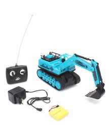 Playmate Remote Controlled Construction Truck - Blue
