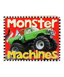 Monster Machines Board Book