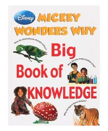 Disney Mickey Wonders Why Big Book Of Knowledge