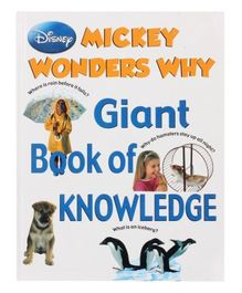 Disney Mickey Wonders Why - Giant Book Of Knowledge