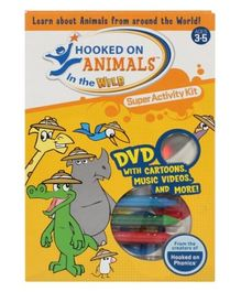 Hooked On Animals In The Wild Super Activity Kit