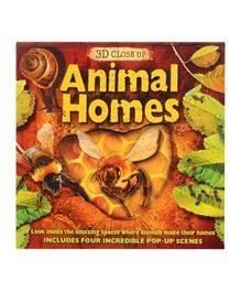 3D Close Up Animal Homes