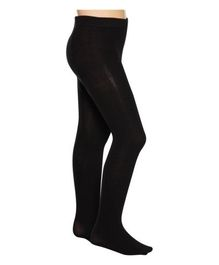 Mustang Footed Tights Stockings - Black