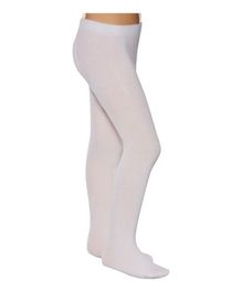Mustang Footed Tights Stockings - White