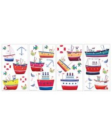 Elementto Ship Shape Wall Stickers