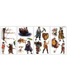 Elementto Pirates Wall Stickers