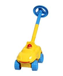 Giggles Walk N Drive Truck - Yellow And Blue