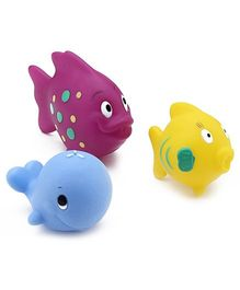 Nuby Plastic Fun Fish Squirters