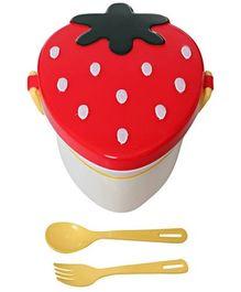 Fab n Funky Strawberry Pattern Lunch Box