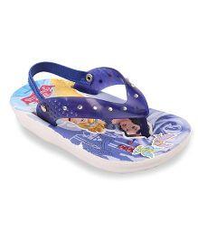 Disney Flip Flops Princess Design- Dark Blue
