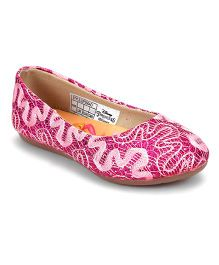 Disney Belly Shoes Sequin Detailing - Pink
