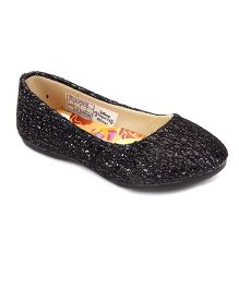 Disney Belly Shoes Sequin Detailing- Black