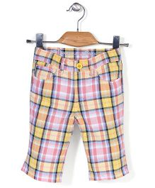 Deeper Checkered Shorts - Multicolour
