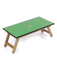 Lovely Royal Touch Wooden Table - Dark Green