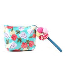 The Eed Floral Print Purse - Multicolour