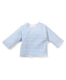 Dear Tiny Baby Full Sleeves Vest - Blue Green