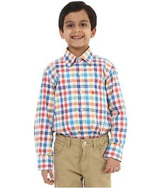Oxolloxo Full Sleeves Check Shirt - Multicolor