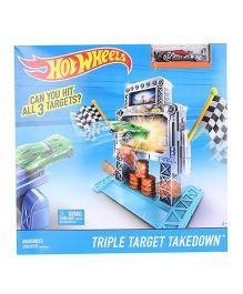 Hot Wheels Triple Target Takedown Trackset - Multicolor