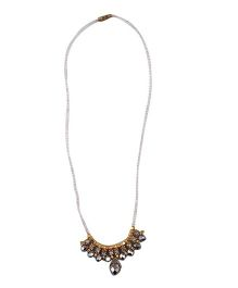 Pikaboo Ethnic Necklace - Silver & Grey