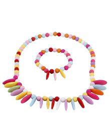 Pikaboo Petal Up Jewellery Set - Multi Color