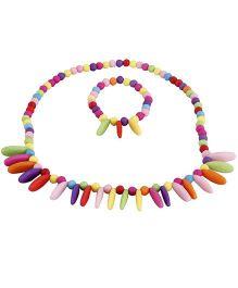 Pikaboo Petal Rainbow Jewellery Set - Multi Color
