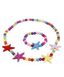 Pikaboo Starfish Jewellery Set - Multi Color