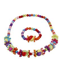 Pikaboo One Two Jewellery Set - Multi Color
