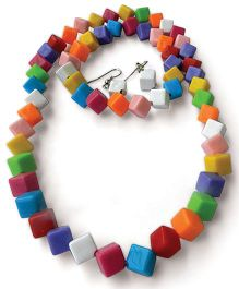 Pikaboo Candy Cubes Jewellery Set - Multi Color