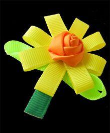 Pikaboo Orange Rose In Flower - Yellow