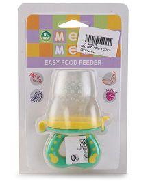 Mee Mee Easy Food Feeder - Green & Yellow