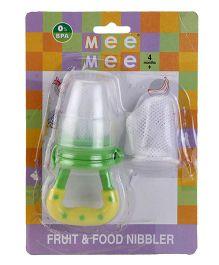 Mee Mee Fruit And Food Nibbler - Green