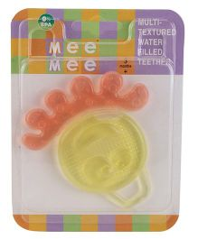 Mee Mee Multi Textured Water Filled Teether - Yellow