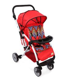 Mee Mee Stroller Cum Pram MM 45 - Red